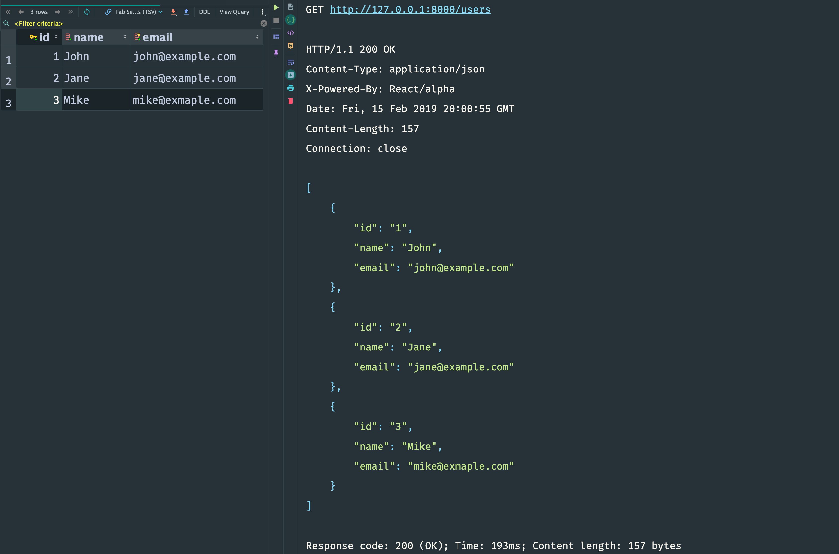 Building a RESTful API Using ReactPHP and MySQL · @zhukserega